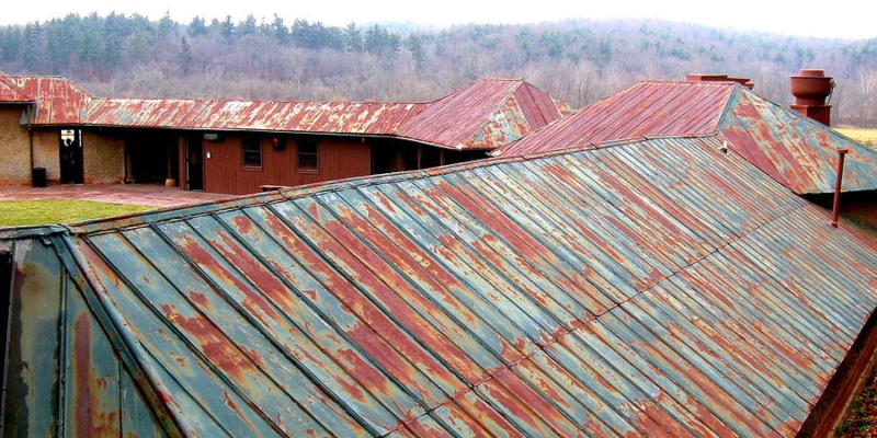 corrosion roof