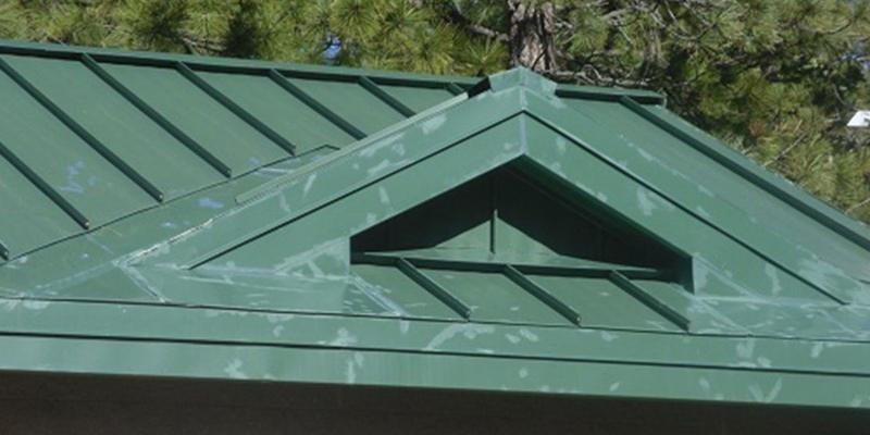 Faulty paint job metal roof