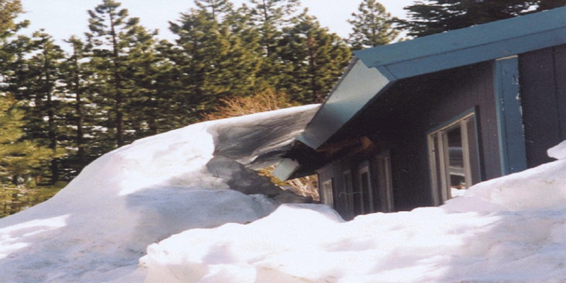 Metal Roof Avalanches