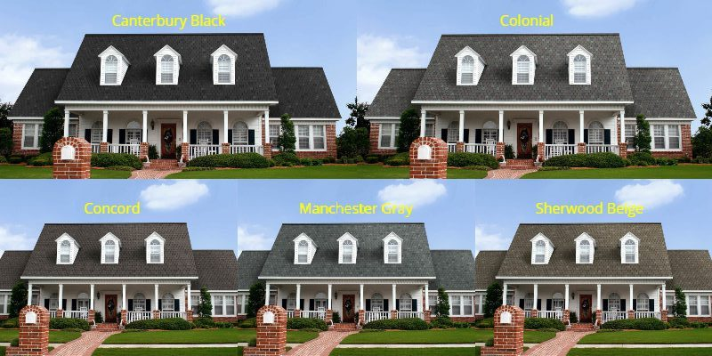 The OC Devonshire is perfect for customers who want the look of a slate roof without the extreme price of the real thing. Although limited to four colors, these dimensional shingles with clipped tabs will set any roof apart from the neighborhood.