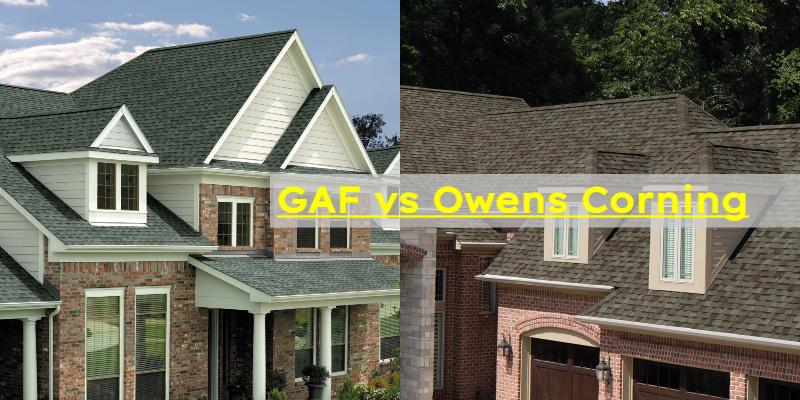 GAF vs Owens Corning Roof Shingles Review