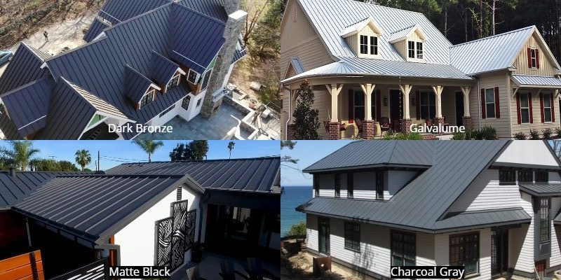 Best Metal Roof Colors