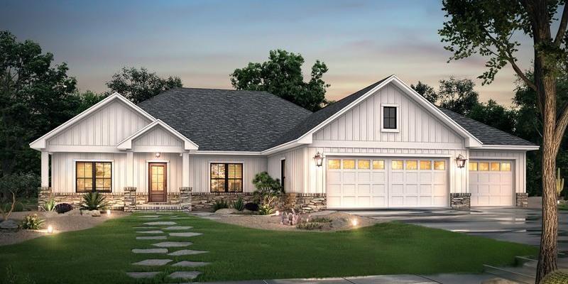 Ranch Architectrual Style House