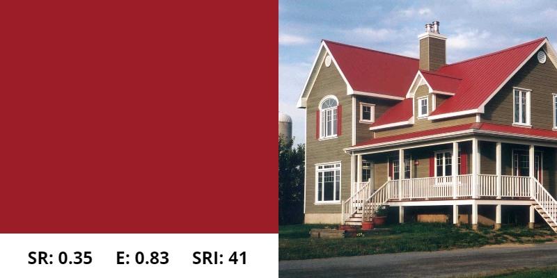 Regal Red Metal Roof