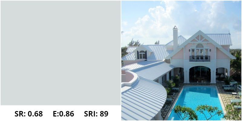 Regal White Metal Roof