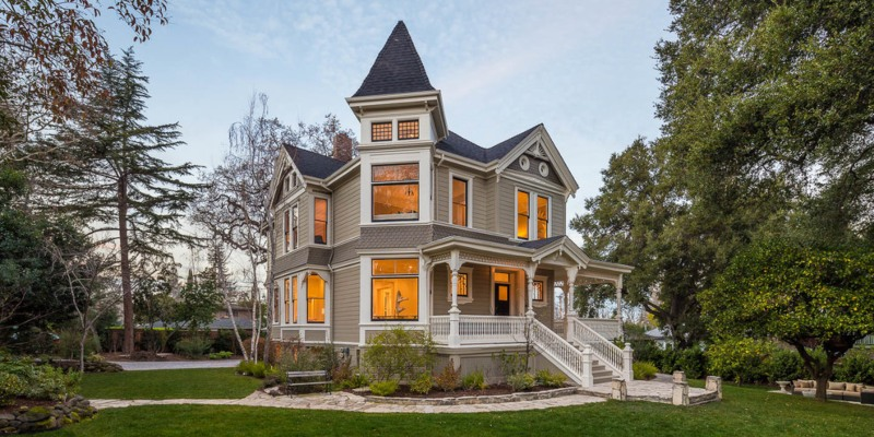 Victorian Architectural Style House