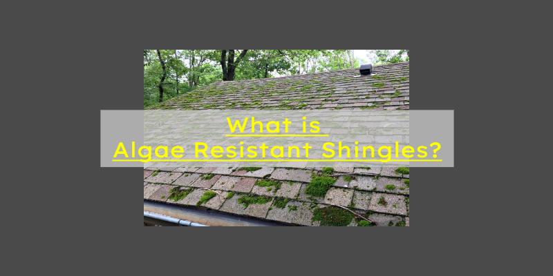 Algae Resistant Shingles