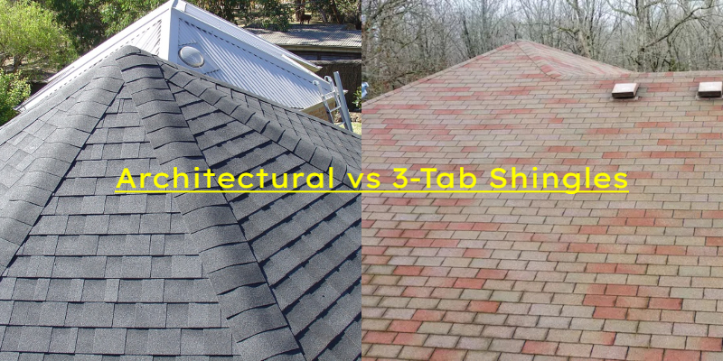 Architectural vs 3-Tab Shingles Roofing