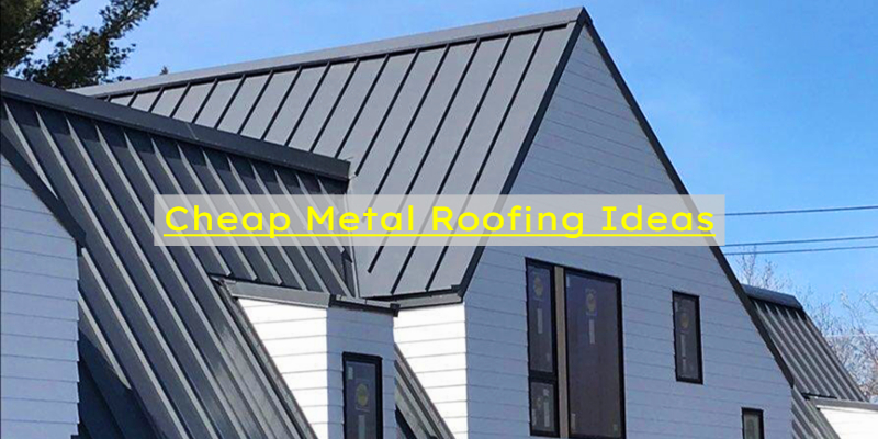cheap metal roofing