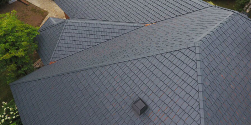 Aluminum Slate Roof