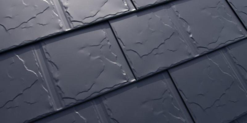 Aluminum tiles roof