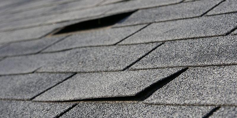 BUR roof open joints