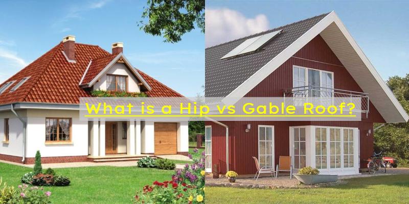 hip vs gable roof