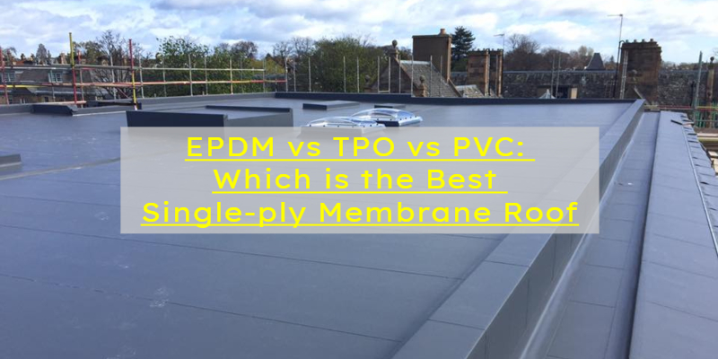 single-ply membrane roof