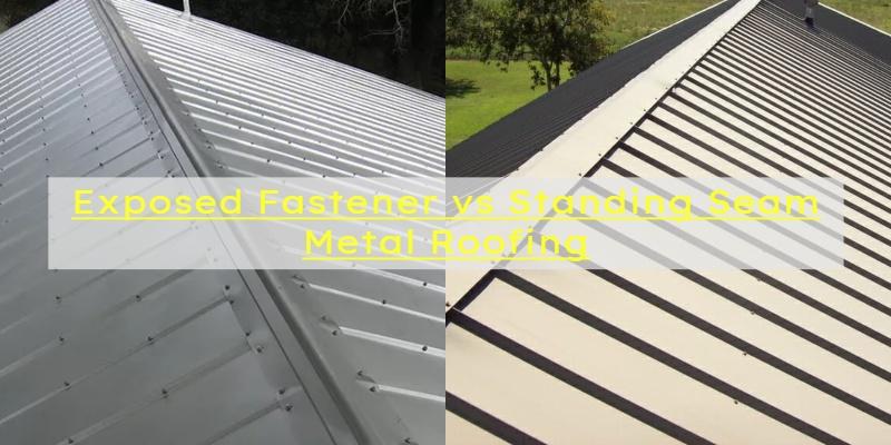 exposed vs standing seam metal roof