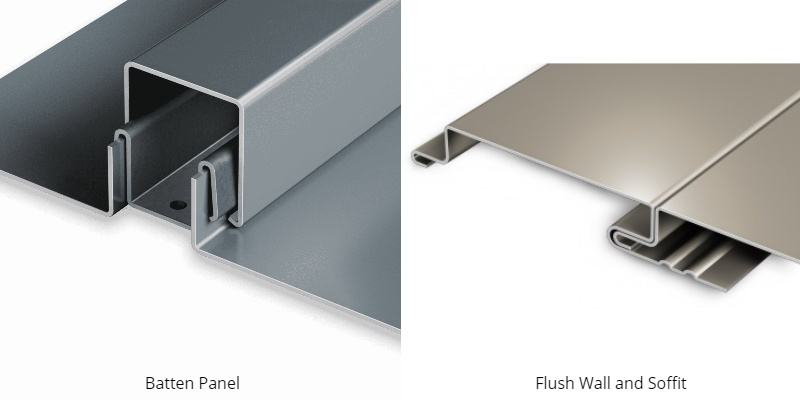 standing seam panel types